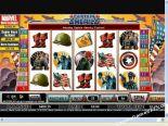 slot automaty Captain America CryptoLogic